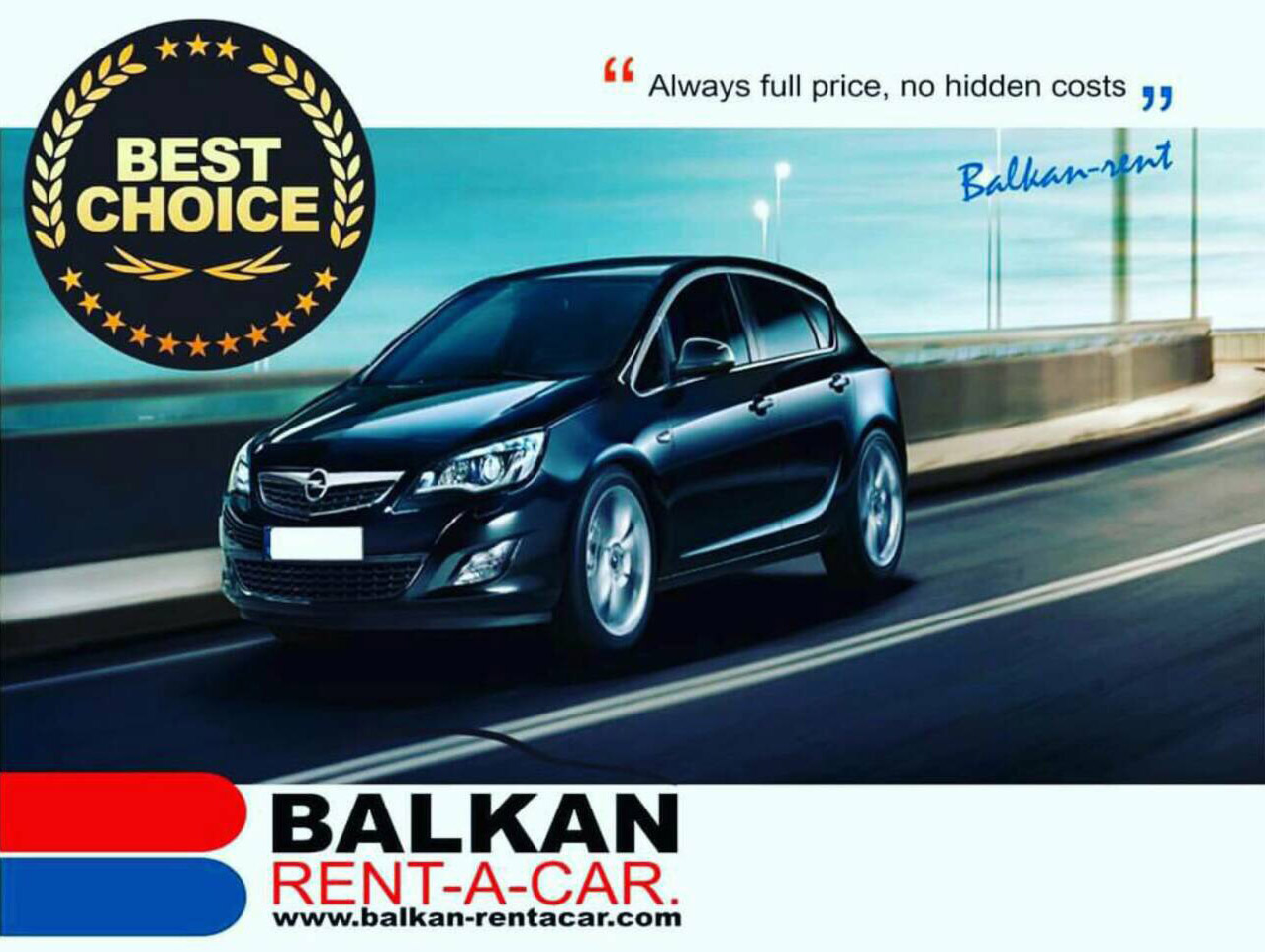 Balkan rent a car